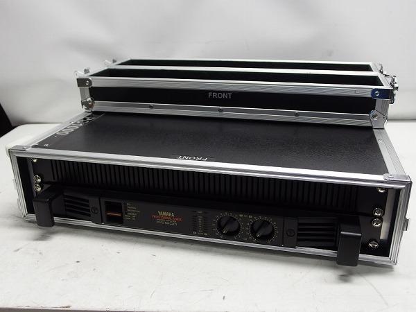YAMAHA PC1000 業務用パワーアンプ ハードケース付き *319267_画像1