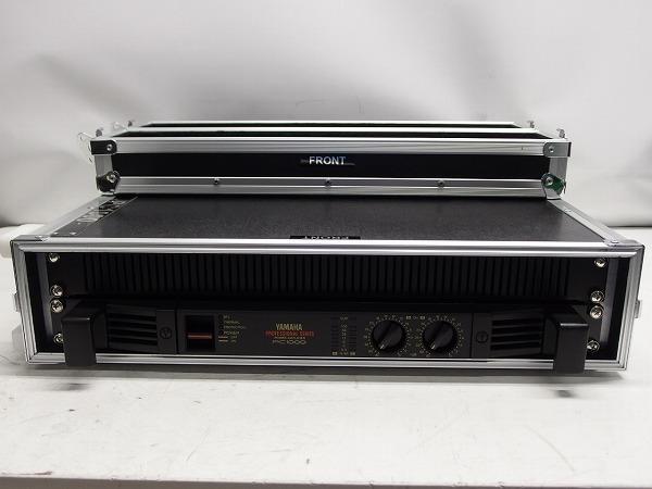 YAMAHA PC1000 業務用パワーアンプ ハードケース付き *319267_画像2