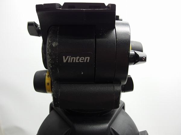 Vinten Vision100 FT2 Fibertec 三段三脚 ボール系100mm グランドスプレッダー付き ヘッド訳あり *319105_画像3