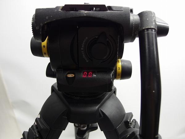 Vinten Vision100 FT2 Fibertec 三段三脚 ボール系100mm グランドスプレッダー付き ヘッド訳あり *319105_画像5