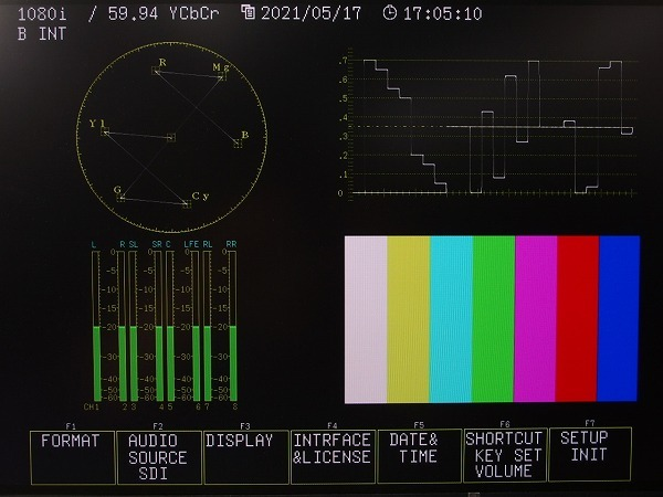LEADER マルチSDIラスタライザー LV7330 HD-SDI SD-SDI *313042_画像9