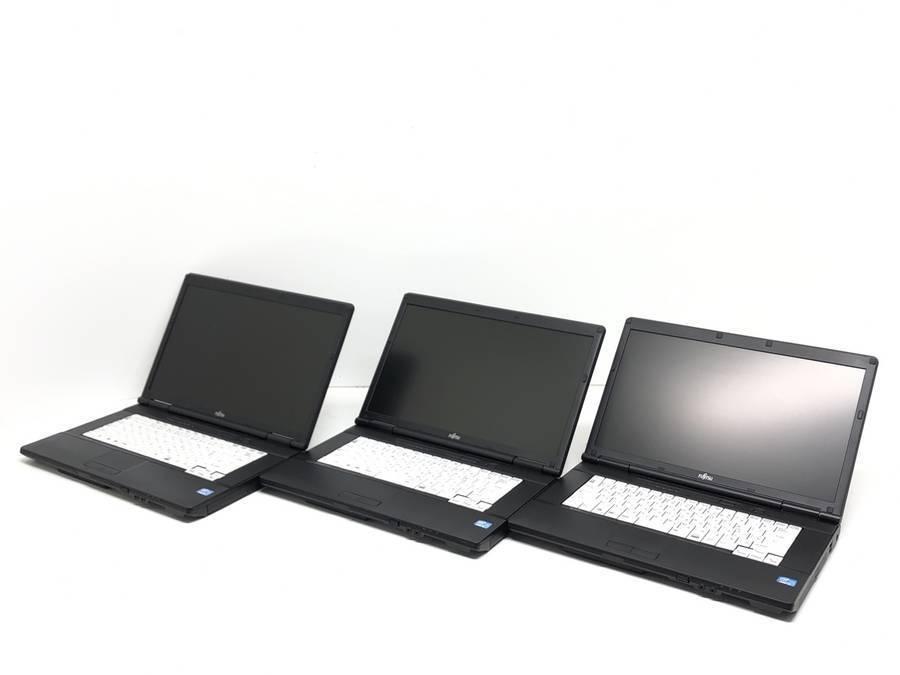 FUJITSU FMVNA7H7 LIFEBOOK 3台セット まとめ売り■現状品_画像1