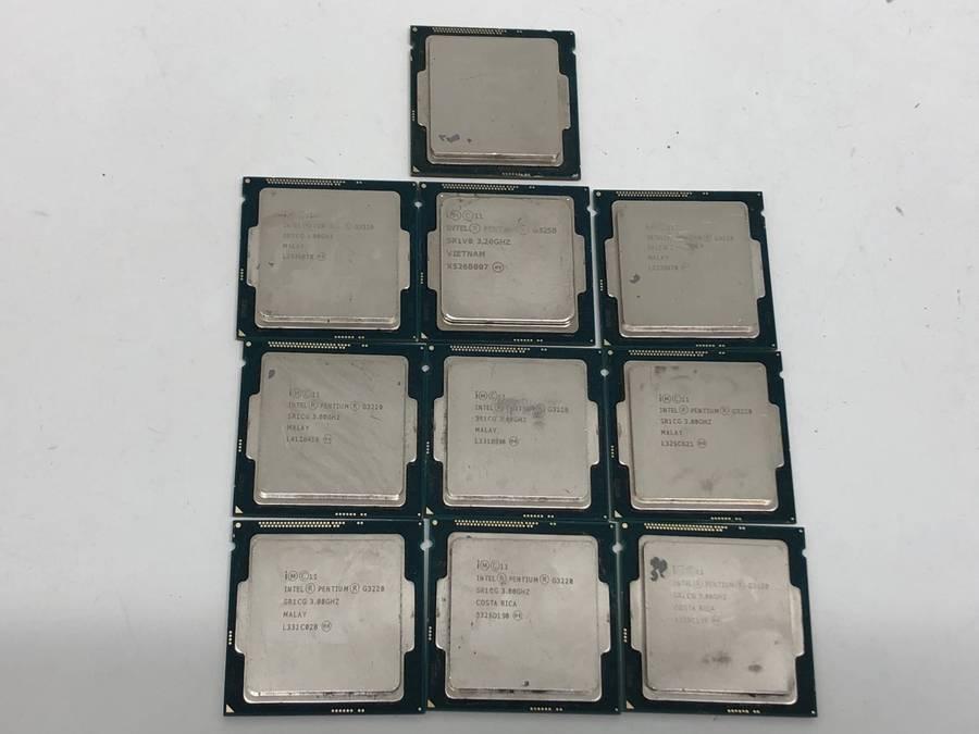 intel - CPU 計81枚セット まとめ売り Celelon G3900 G1000番台 Pentium G3000番台 Xeon E5 E3■ジャンク品_画像6