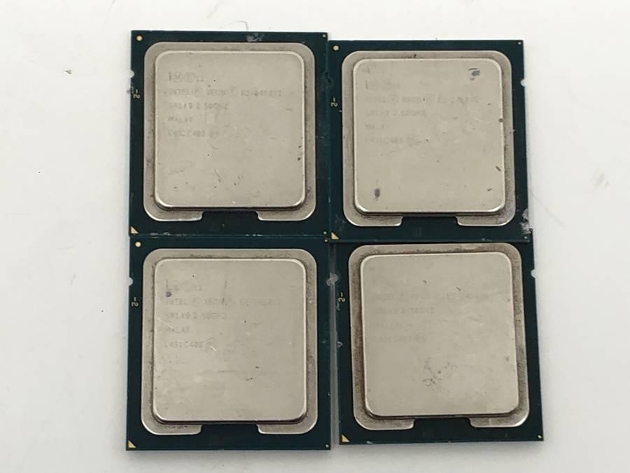 intel - CPU 計81枚セット まとめ売り Celelon G3900 G1000番台 Pentium G3000番台 Xeon E5 E3■ジャンク品_画像2