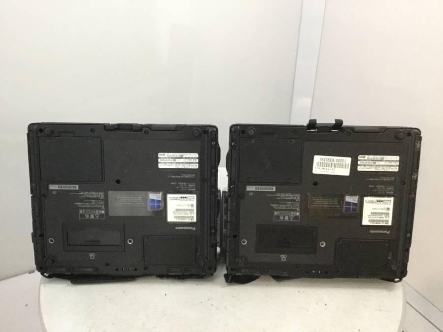 Panasonic CF-195W1ACS TOUGHBOOK 2台セット まとめ売り■現状品_画像4