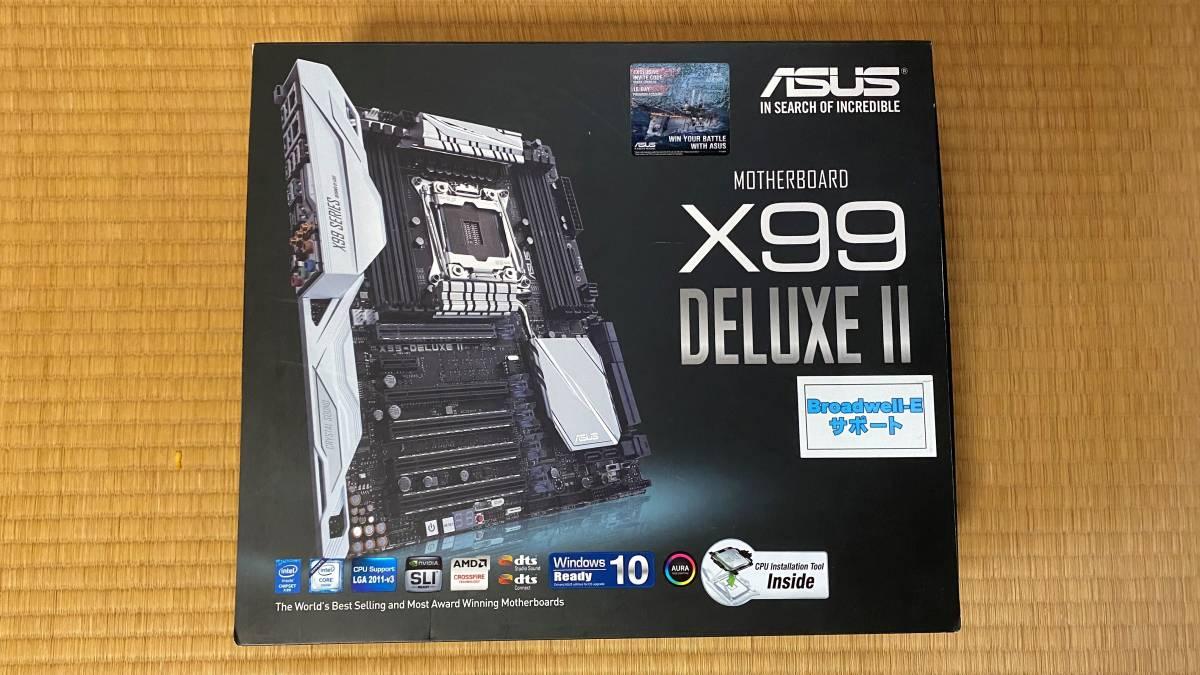 マザーボード ASUS X99-DELUXE Ⅱ LGA2011V3 (一応ジャンク扱い)