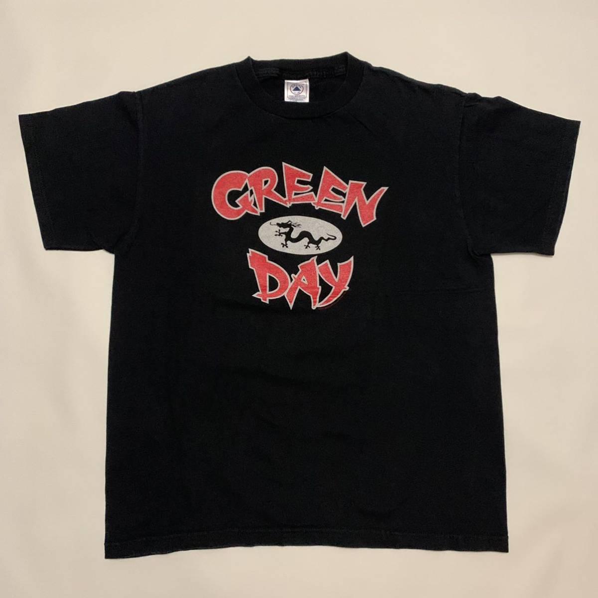 00s GREEN DAY POP DISASTER ツアー Tシャツ ブラック 黒 USA製 /ビンテージ 80s STARTREK STAR WARS バンT NIRVANA レッチリ バンド
