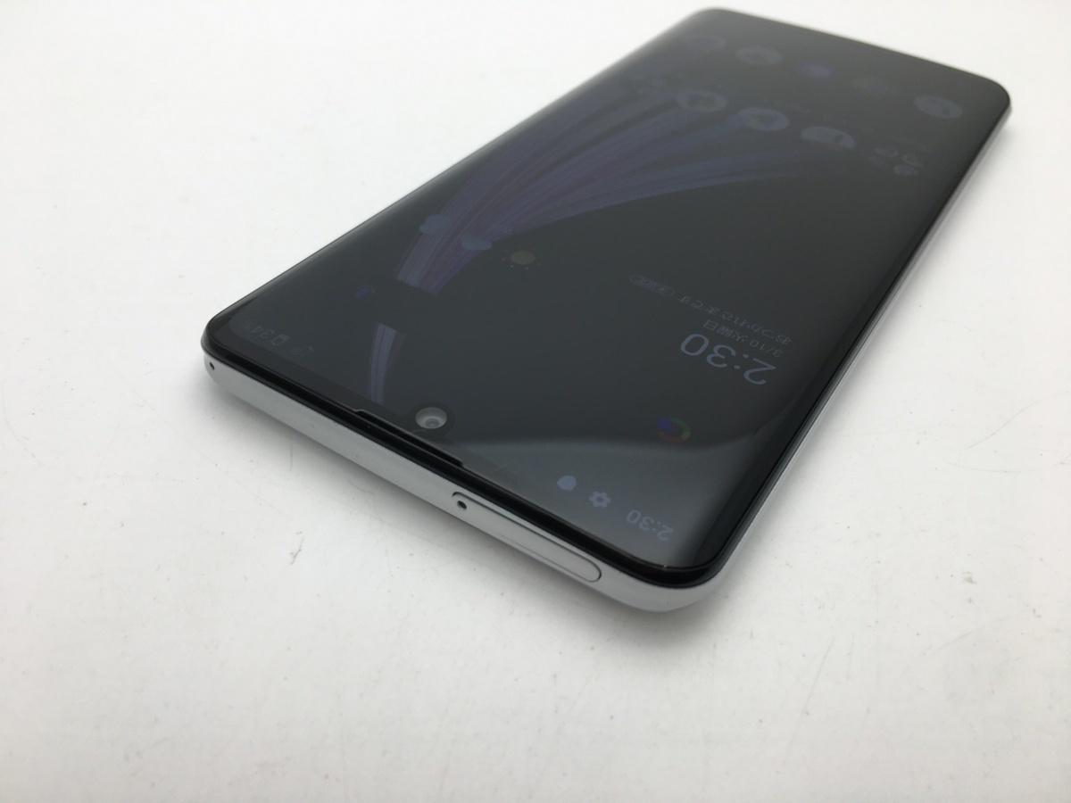 RUUN7170【新品同様】SIMロック解除済 SIMフリー SHARP au AQUOS zero2 SHV47 ミスティホワイト androidスマホ ゲーミングスマホ_画像4