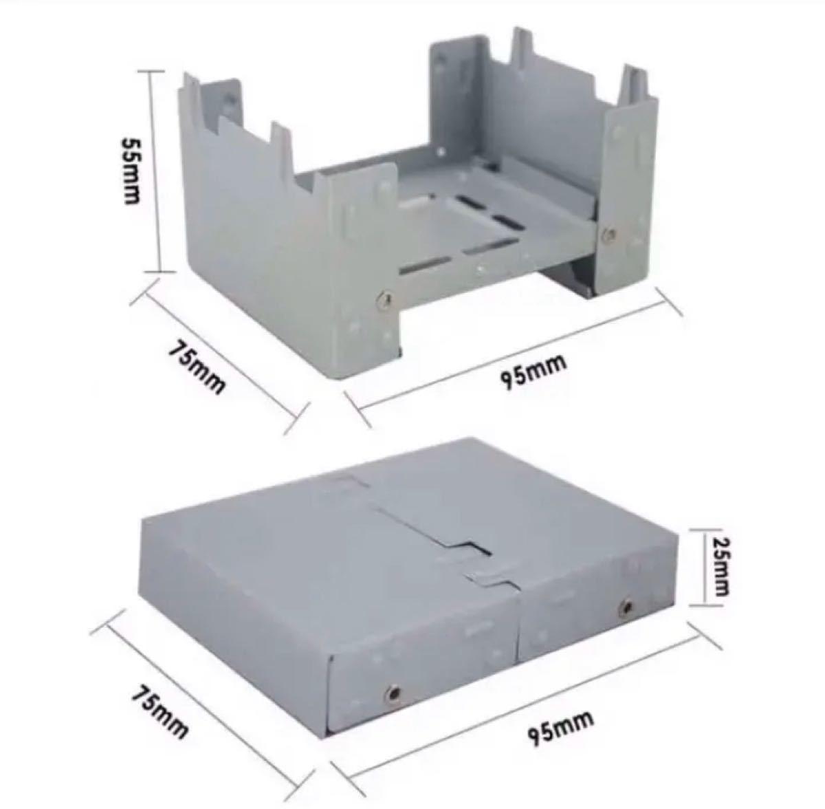 ポケットコンロ ミニコンロ ポケットサイズ コンパクトキャンプ アウトドア