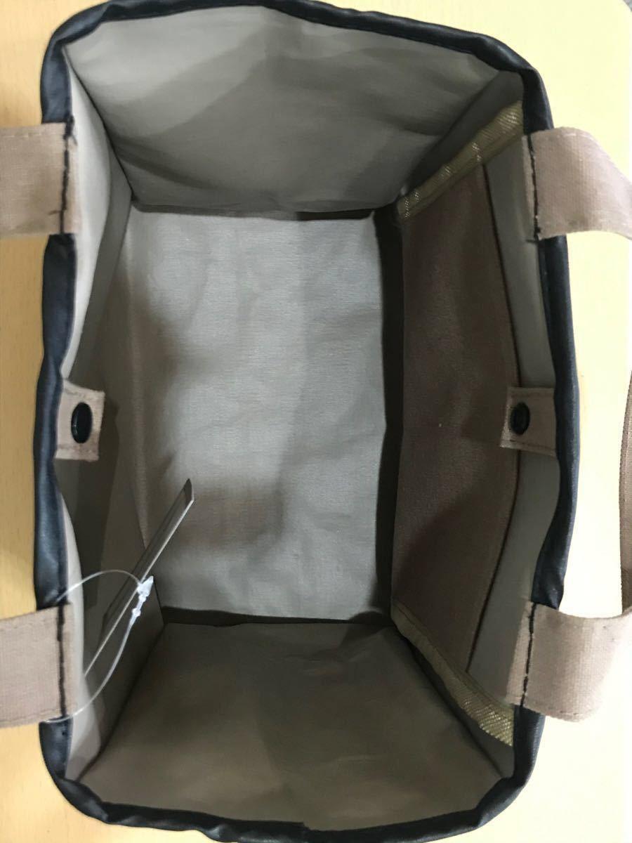 トートバッグ レディースバッグ エコバッグ サブバッグ 茶 ミニバッグ コンパクトバッグ
