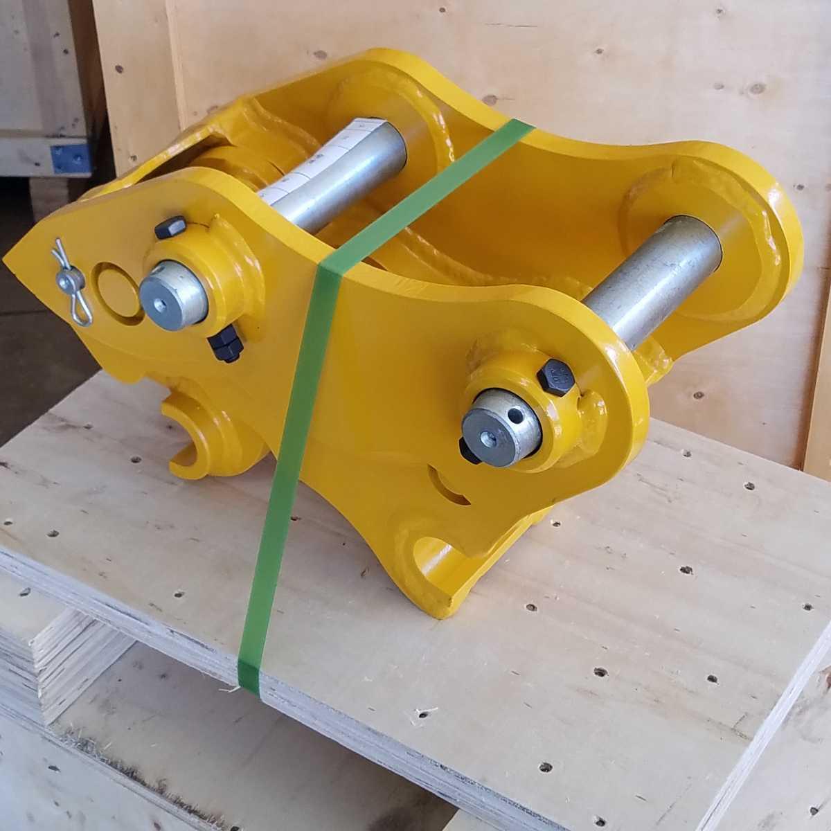 「★クイックヒッチ★ クボタ ピン径40mm 幅134mm ピン~ピン172mm、重量35kg、3トンクラス オートエース建機。Aロック/工具付き」の画像3