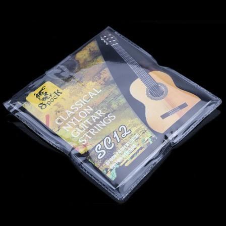 U1252:6ピース クラシック ギター 弦 6弦 ナイロン シルバーメッキ 超軽量 アコースティック 楽器_画像2