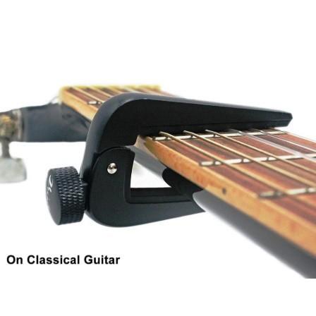 U1156:6弦 12弦 アコースティック クラシック エレクトリックギター ベース マンドリン ウクレレ 弦楽器用 調整可能 ギターカポフィット_画像4