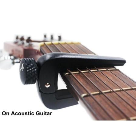 U1156:6弦 12弦 アコースティック クラシック エレクトリックギター ベース マンドリン ウクレレ 弦楽器用 調整可能 ギターカポフィット_画像5