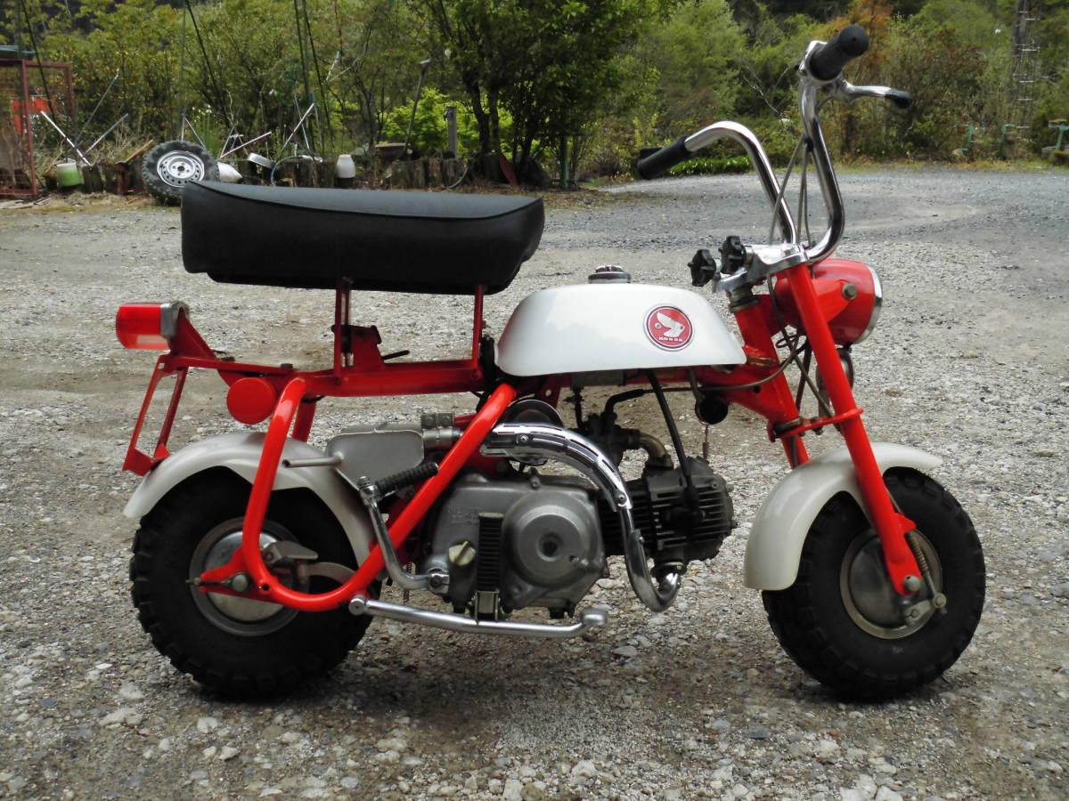「愛知の薪屋 ホンダ モンキーZ50M 希少 見て磨いて楽しむバイク 綺麗です。」の画像2