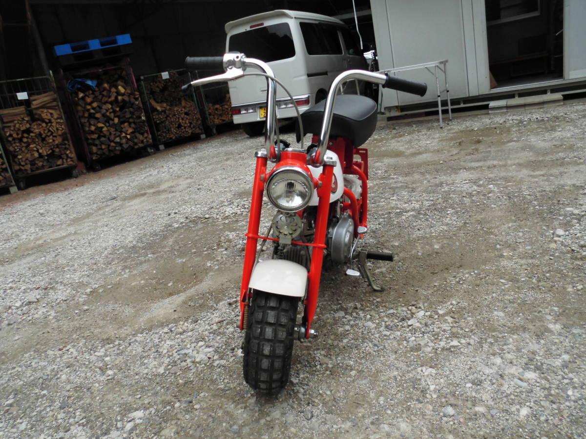 「愛知の薪屋 ホンダ モンキーZ50M 希少 見て磨いて楽しむバイク 綺麗です。」の画像3