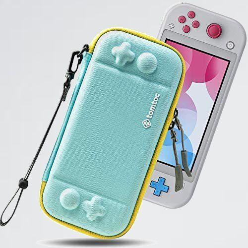 未使用 新品 Switch Nintendo 9-HL ストラップ付き ライトブル- Lite対応 tomtoc ハ-ドケ-ス スイッチ ライト 耐衝撃 薄型_画像1