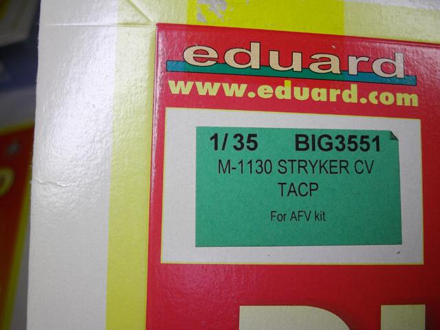 エデュアルド ビッグエド BIG ED  BIG3551 AFV Club 1/35ストライカー M-1130CV TACP エッチングパーツセット アーマースラット 装甲_画像2