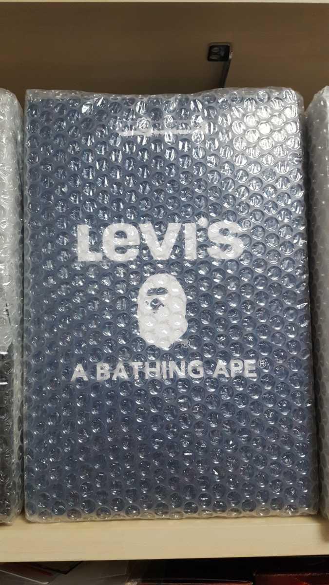 新品未開封 BE@RBRICK Levi's×BAPE 100%400% MEDICOMTOY ベアブリック メディコムトイ KAWS エイプ リーバイス_画像3