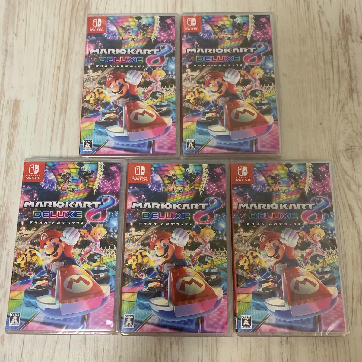 マリオカート8デラックス Nintendo Switch ニンテンドースイッチソフト