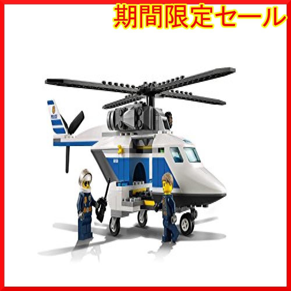 レゴ (LEGO) シティ ポリスヘリコプターとポリスカー 60138 ブロック おもちゃ 男の子 車_画像8