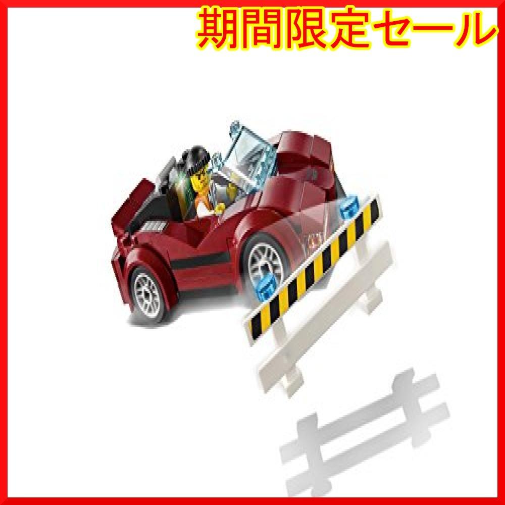 レゴ (LEGO) シティ ポリスヘリコプターとポリスカー 60138 ブロック おもちゃ 男の子 車_画像7