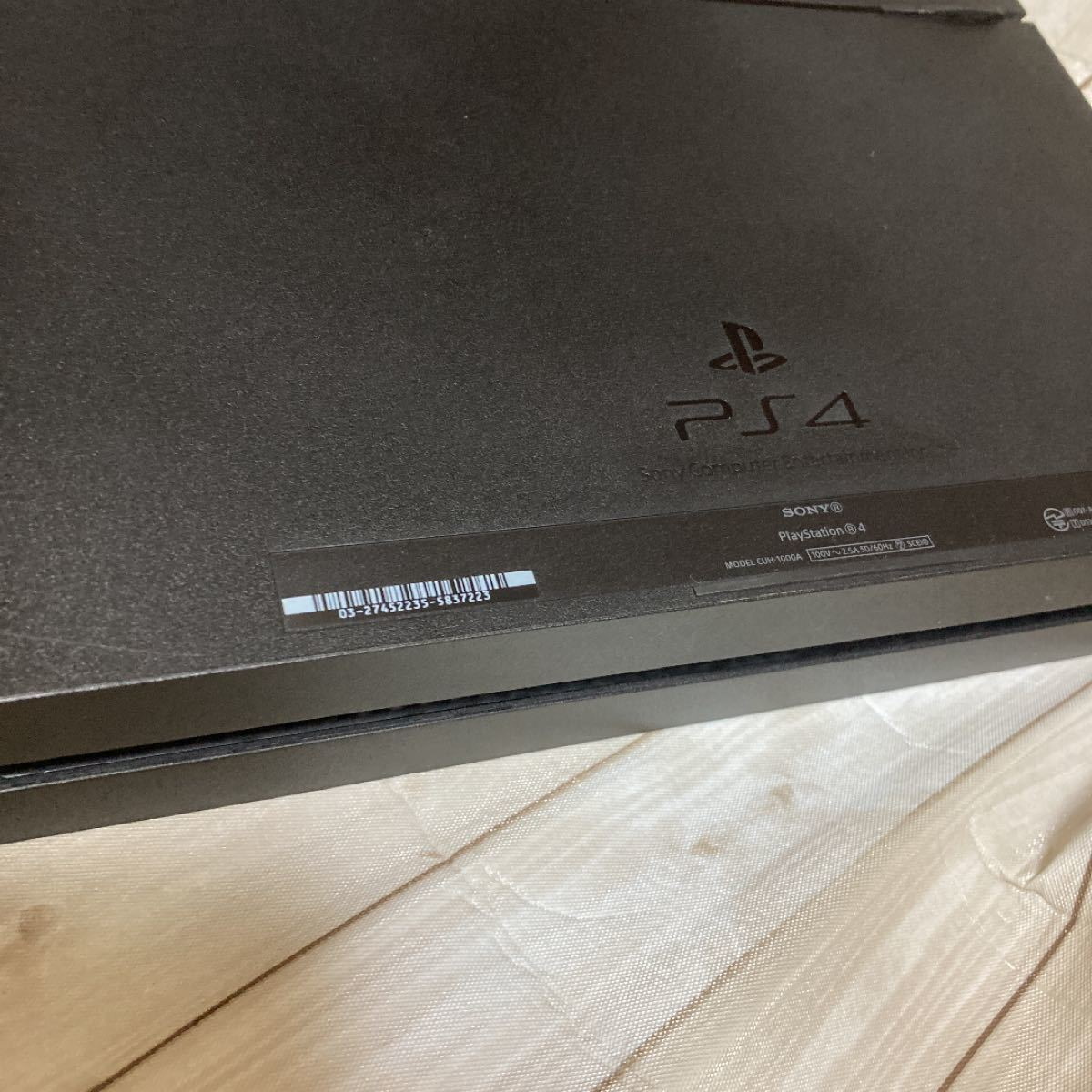 PS4本体 SONY ジェットブラック プレステ4 PlayStation4 PS4