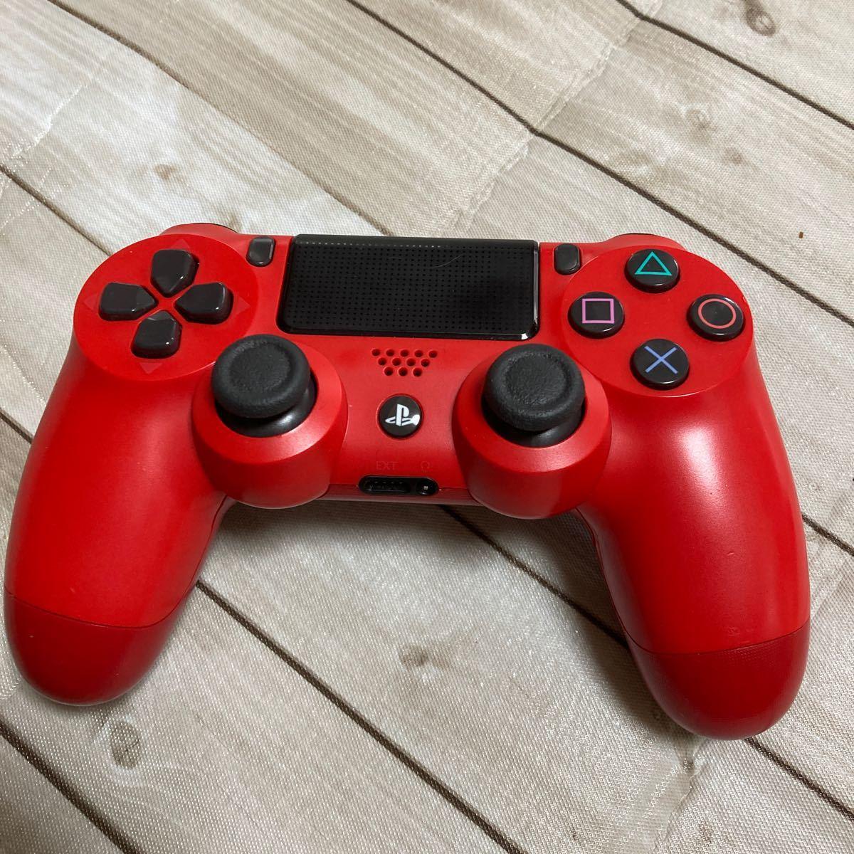 デュアルショック4 DUALSHOCK4 SONY ワイヤレスコントローラー PS4 レッド PS4コントローラー