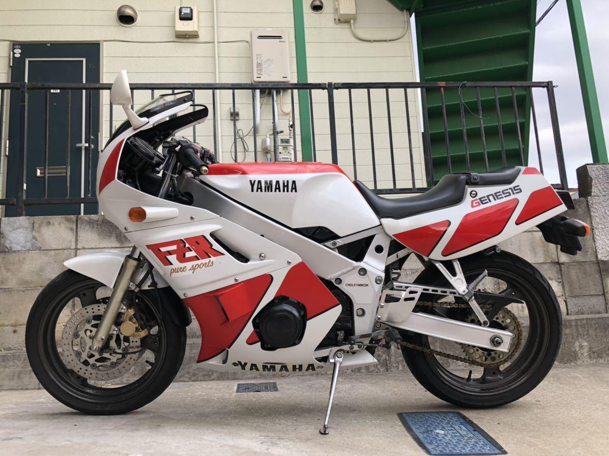「ヤマハ FZR400 1WG 機関良好セル一発始動 1987年 車検付R3年7月末」の画像3