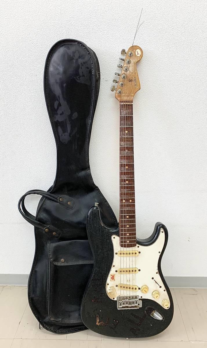 H253-O8-17 Fender STRATOCASTER フェンダー ストラトキャスター エレキギター 6弦 弦楽器 ケース付き ②
