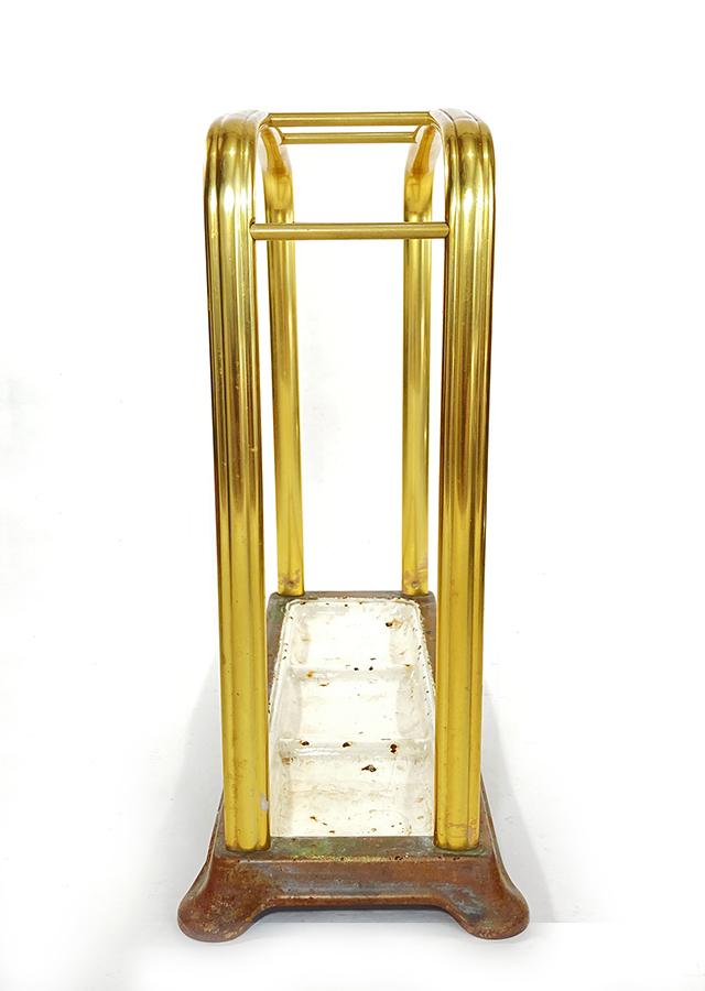 1930年代ドイツ製 アルミ 傘立て/モダン/アンティーク/バウハウス/店舗什器/椅子/デスク/チェア/インダストリアル/ビンテージ/ランプ/照明_画像3