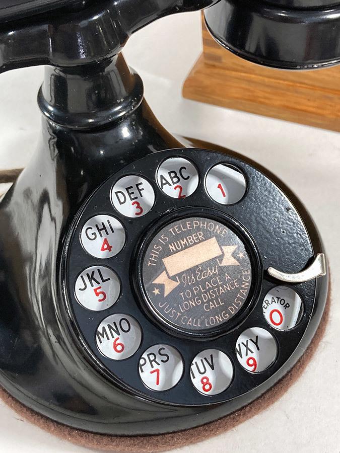 -実働品- 1920's USA アンティーク 電話機/家具/店舗什器/ランプ/ビンテージ/デスク/o.c.white/gras/黒電話/映画/rrl/古着/sweet orr/照明_画像5