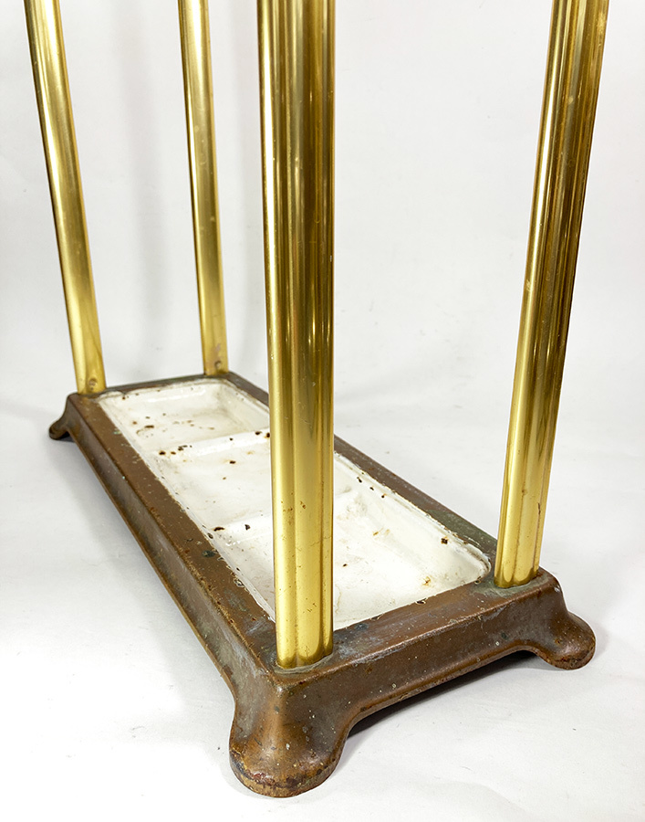 1930年代ドイツ製 アルミ 傘立て/モダン/アンティーク/バウハウス/店舗什器/椅子/デスク/チェア/インダストリアル/ビンテージ/ランプ/照明_画像7