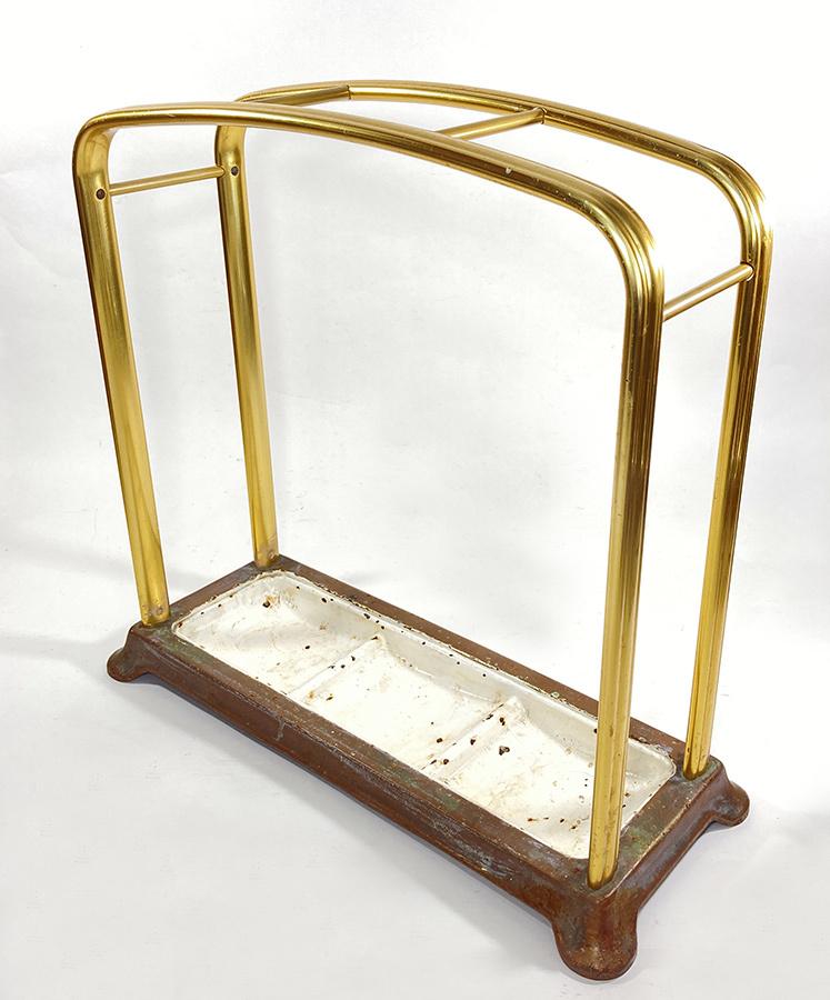 1930年代ドイツ製 アルミ 傘立て/モダン/アンティーク/バウハウス/店舗什器/椅子/デスク/チェア/インダストリアル/ビンテージ/ランプ/照明_画像4