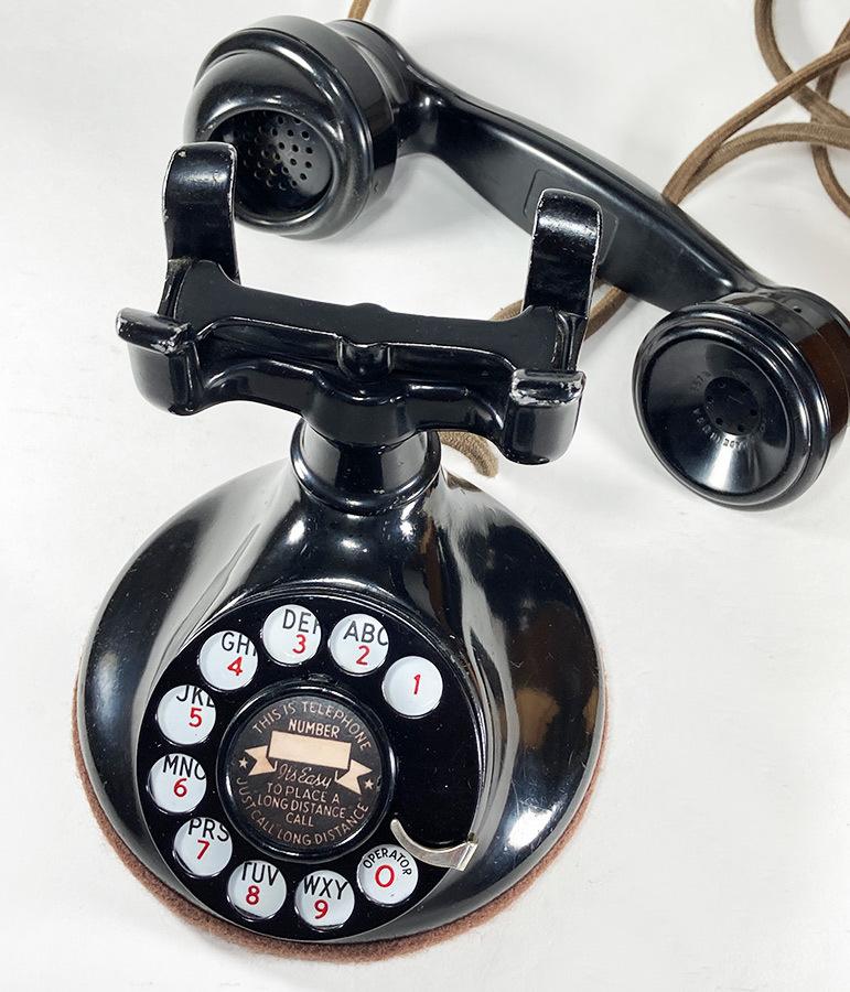 -実働品- 1920's USA アンティーク 電話機/家具/店舗什器/ランプ/ビンテージ/デスク/o.c.white/gras/黒電話/映画/rrl/古着/sweet orr/照明_画像4