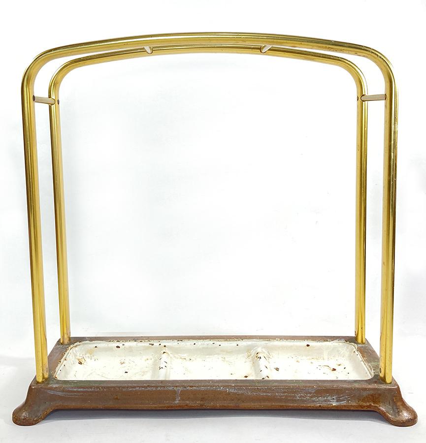1930年代ドイツ製 アルミ 傘立て/モダン/アンティーク/バウハウス/店舗什器/椅子/デスク/チェア/インダストリアル/ビンテージ/ランプ/照明_画像5