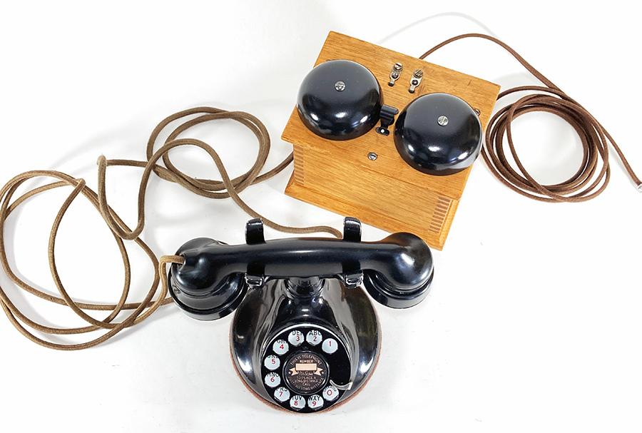 -実働品- 1920's USA アンティーク 電話機/家具/店舗什器/ランプ/ビンテージ/デスク/o.c.white/gras/黒電話/映画/rrl/古着/sweet orr/照明_画像3