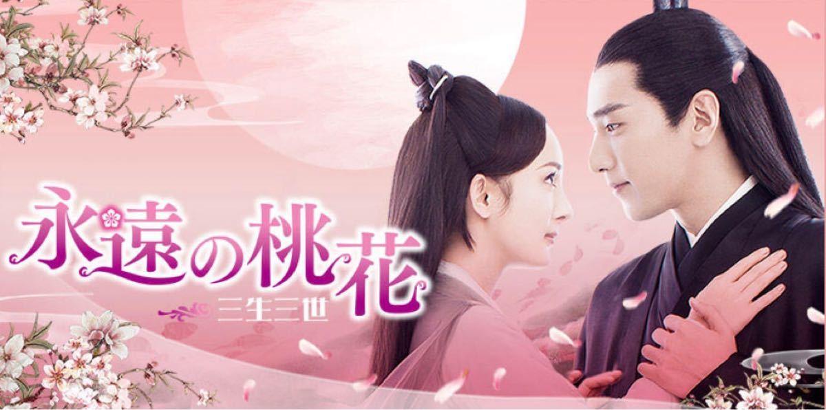 中国ドラマ全話DVD【永遠の桃花】