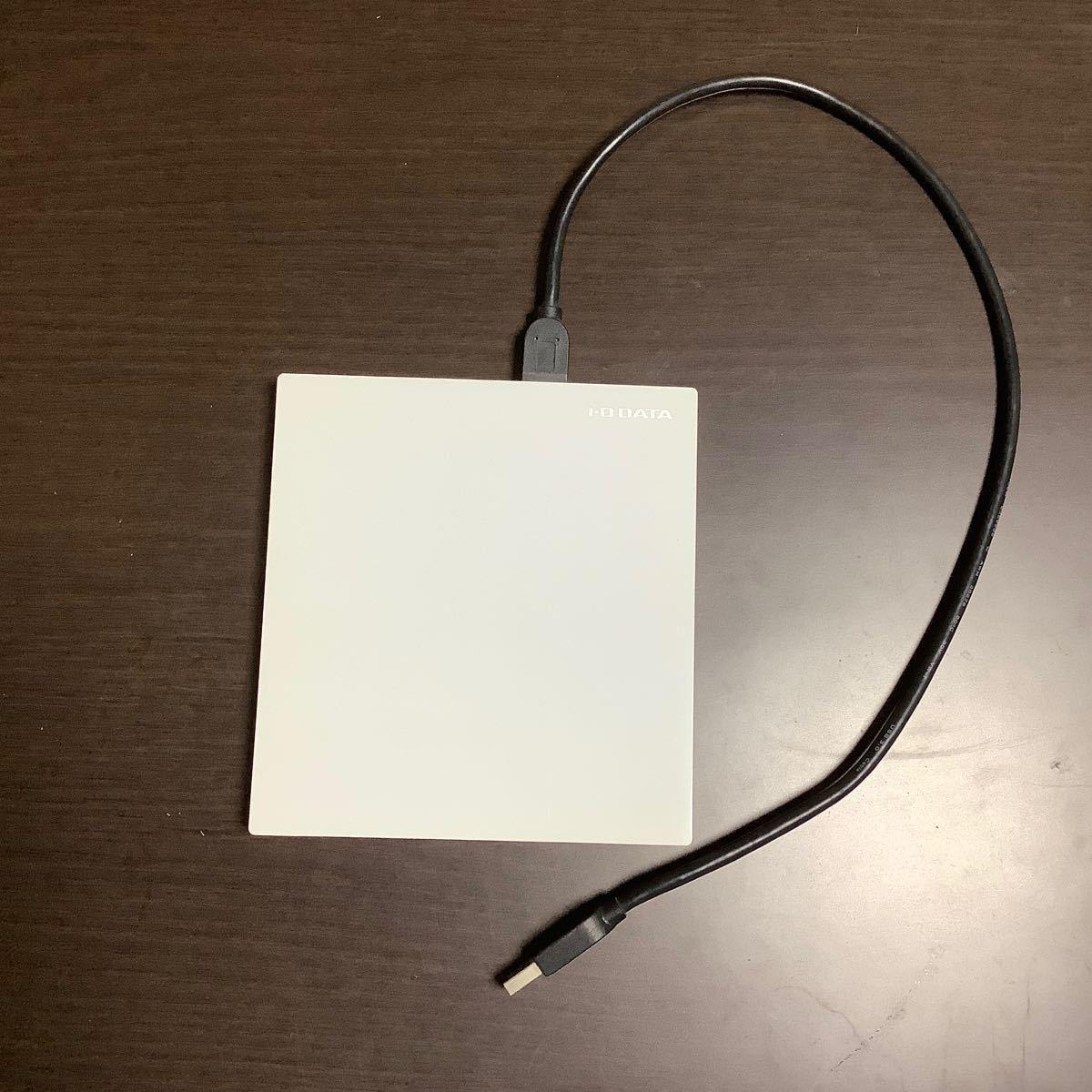 I-O DATA ポータブル ブルーレイドライブ BRP-UT6SLW USB3.0 外付け BDXL バスパワー対応