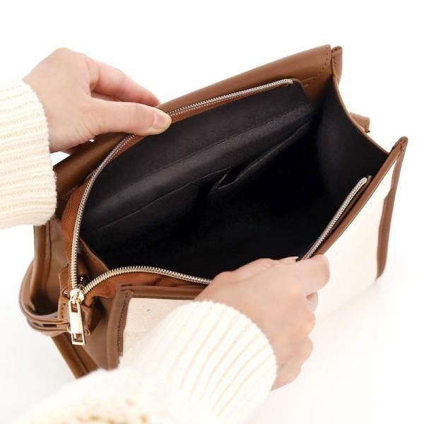 レディースバッグ ショルダーバッグ カバン 黒 スクエア型 トートバッグ ハンドバッグ バッグ キャンバス 新品