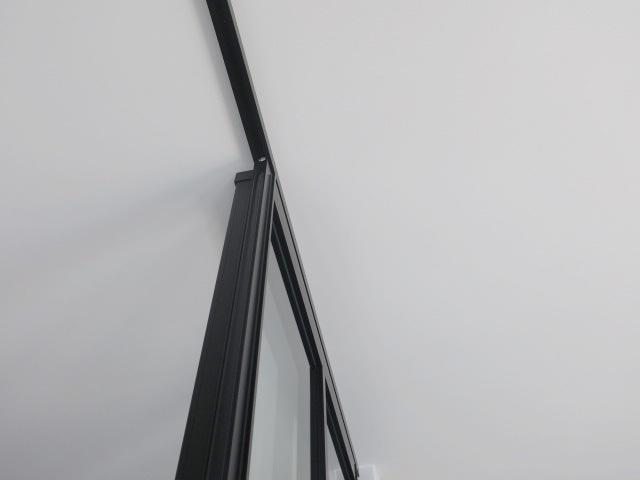 23894■室内用 ガラススライドドア 1枚組 W865×H2665 上部レール付き■展示品/取り外し品/未使用品_画像4