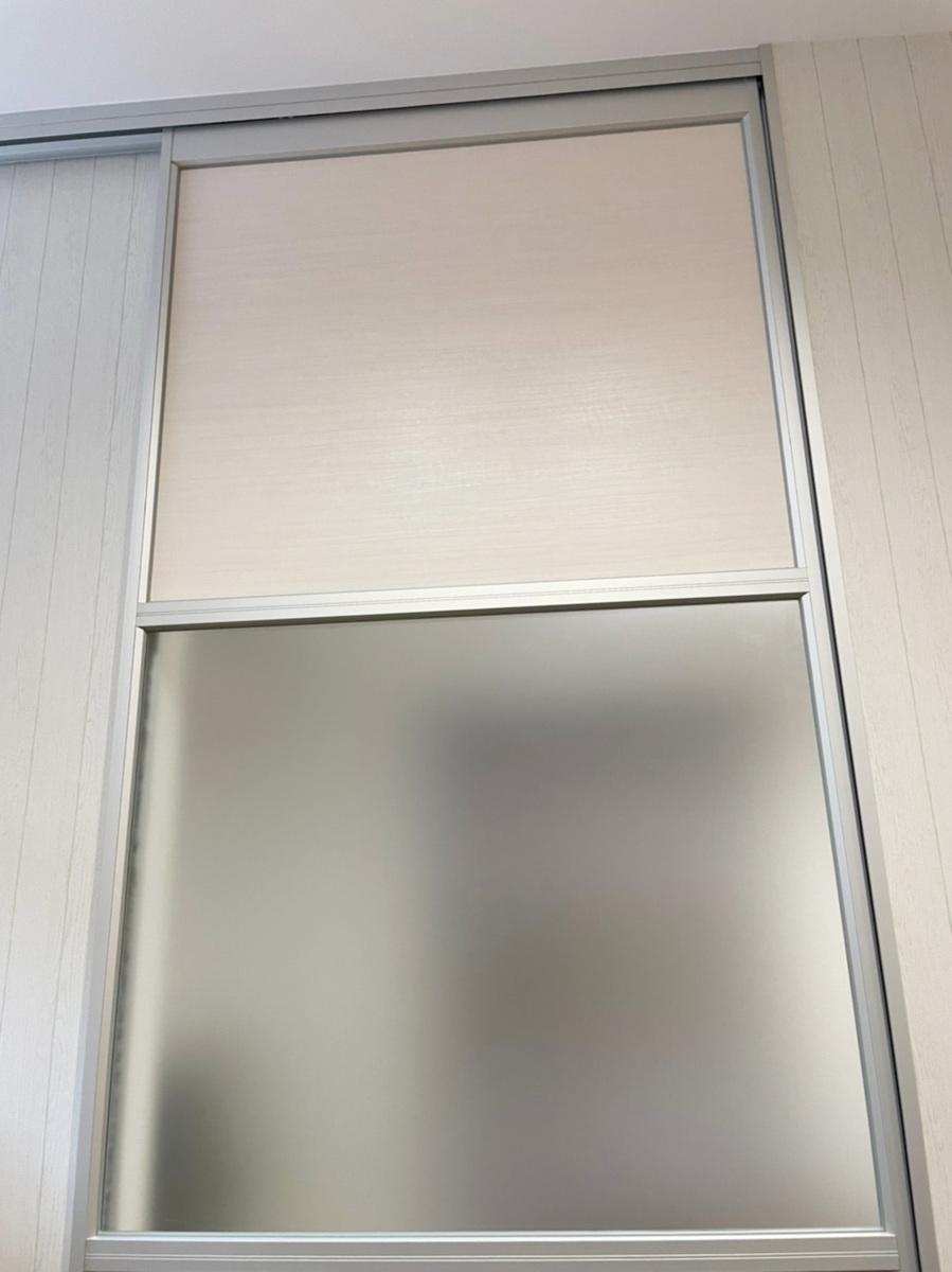 23957■室内用 アルミパーティション 1枚組 上部レール付き 軽量 アクリル板 W895×H2665■展示品/取り外し品_画像3