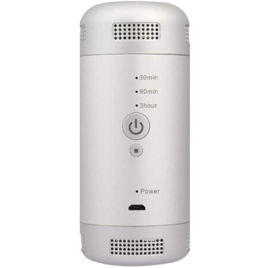 ミニ空気清浄機 花粉対策 低濃度 0.1ppm 車載オゾン発生器 小型脱臭機 冷蔵庫-10℃対応 99.98%9HUC664_画像8