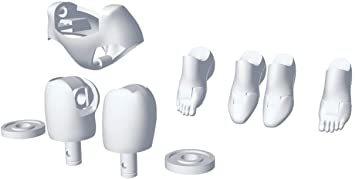 壽屋 メガミデバイスM.S.G 02 ボトムスセット ホワイト 全長約20mm 1/1スケール プラモデル KP567_画像1