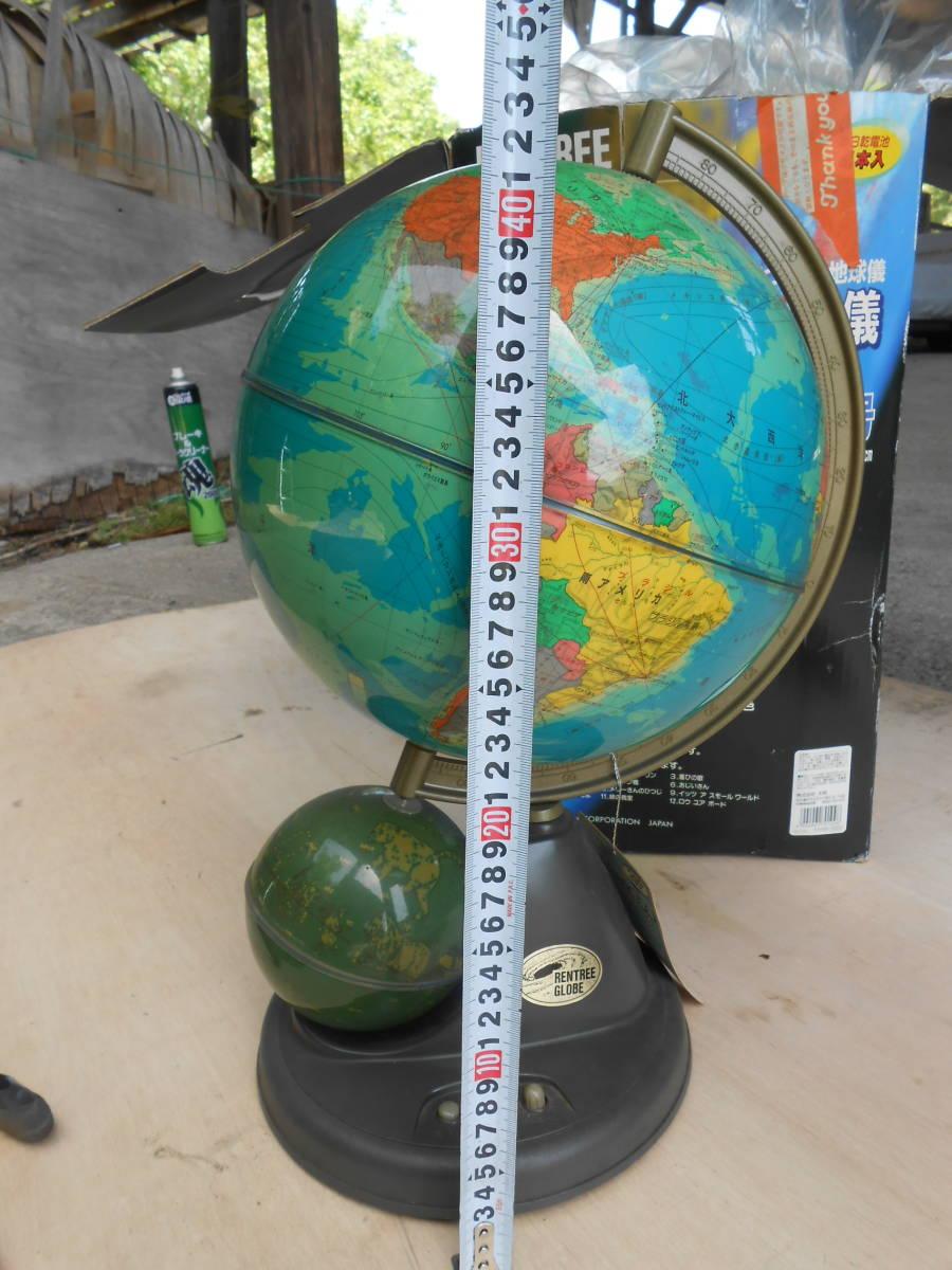 中古★回るメロディ地球儀 10号 直径26㎝★_画像9