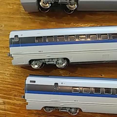 KATO 500系 新幹線 中古品7両_画像6