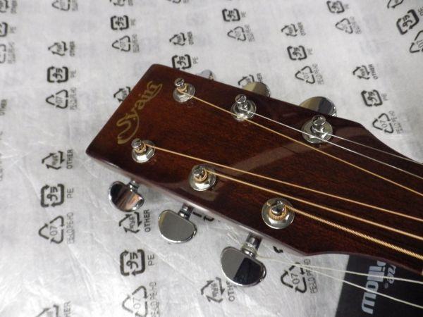 Syairi Sヤイリ  トップマホガニー単板 オールマホガニー アコースティックギター YD-05/MH チューナー・ストラップ等おまけ付_画像3