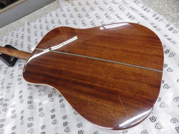 Syairi Sヤイリ  トップマホガニー単板 オールマホガニー アコースティックギター YD-05/MH チューナー・ストラップ等おまけ付_画像5