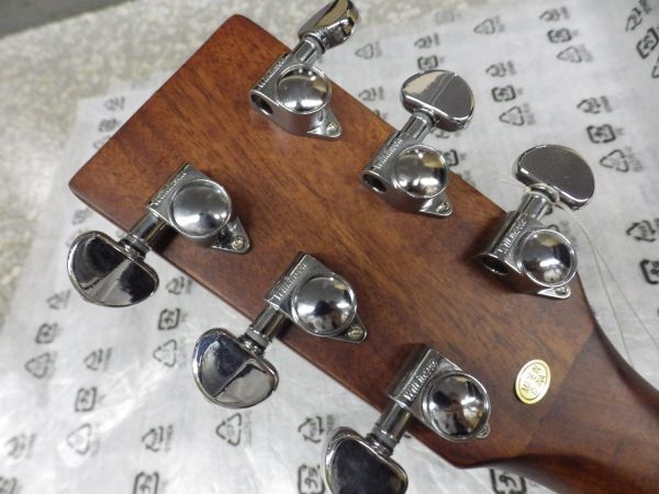 Syairi Sヤイリ  トップマホガニー単板 オールマホガニー アコースティックギター YD-05/MH チューナー・ストラップ等おまけ付_画像8