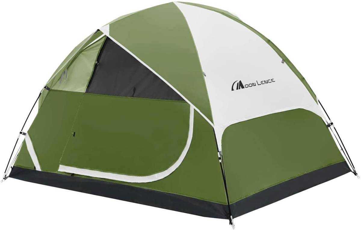 家族 テント 4人用 設営簡単 キャンプ ツーリング 3人用 自立式 防災 BBQ 避難